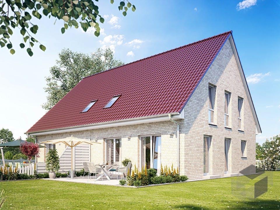 Zweifamilienhaus 880 von Heinz von Heiden Massivhäuser Außenansicht