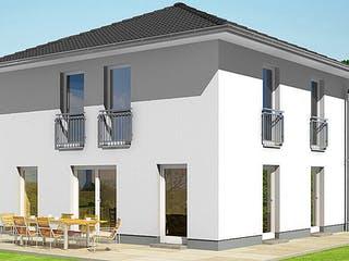 ELEGANZ 1000.2 von HVO Massivhaus Außenansicht 1
