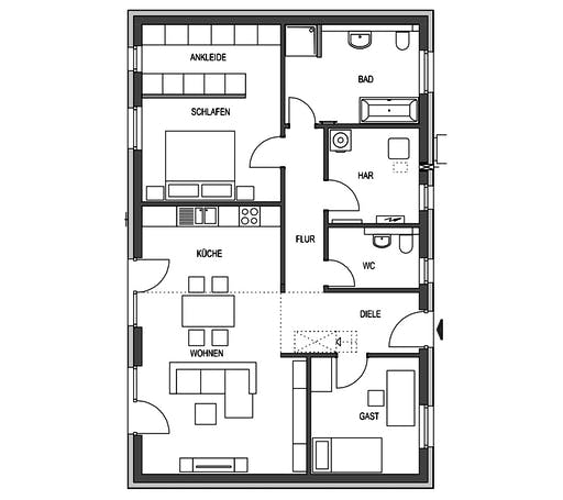HVO - Ideal 2561 Floorplan 1