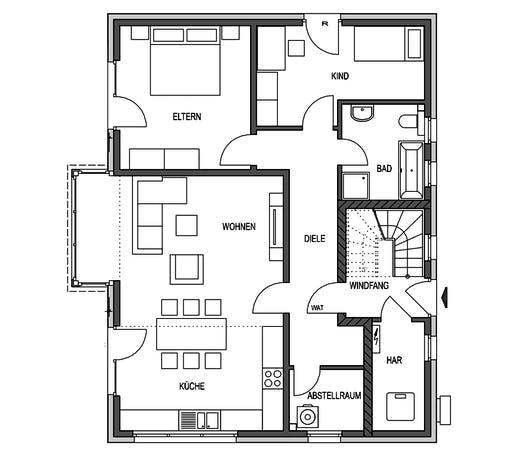 HVO - Klassik 1190.2F Floorplan 1