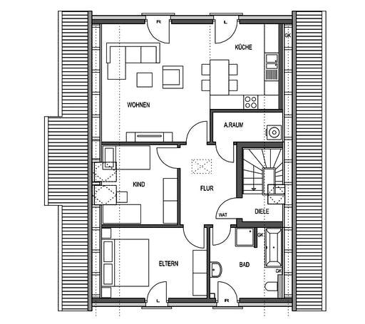 HVO - Klassik 1190.2F Floorplan 2