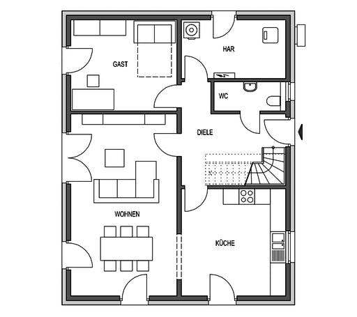 HVO - Variant 1000.2 Floorplan 1