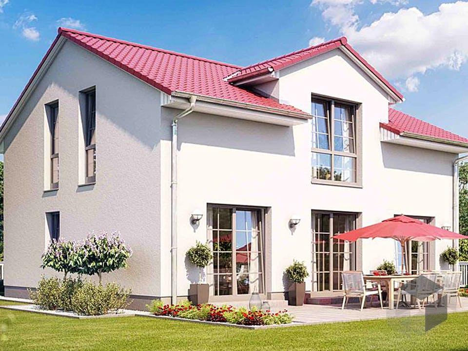VARIANT 2620 von HVO Massivhaus Außenansicht