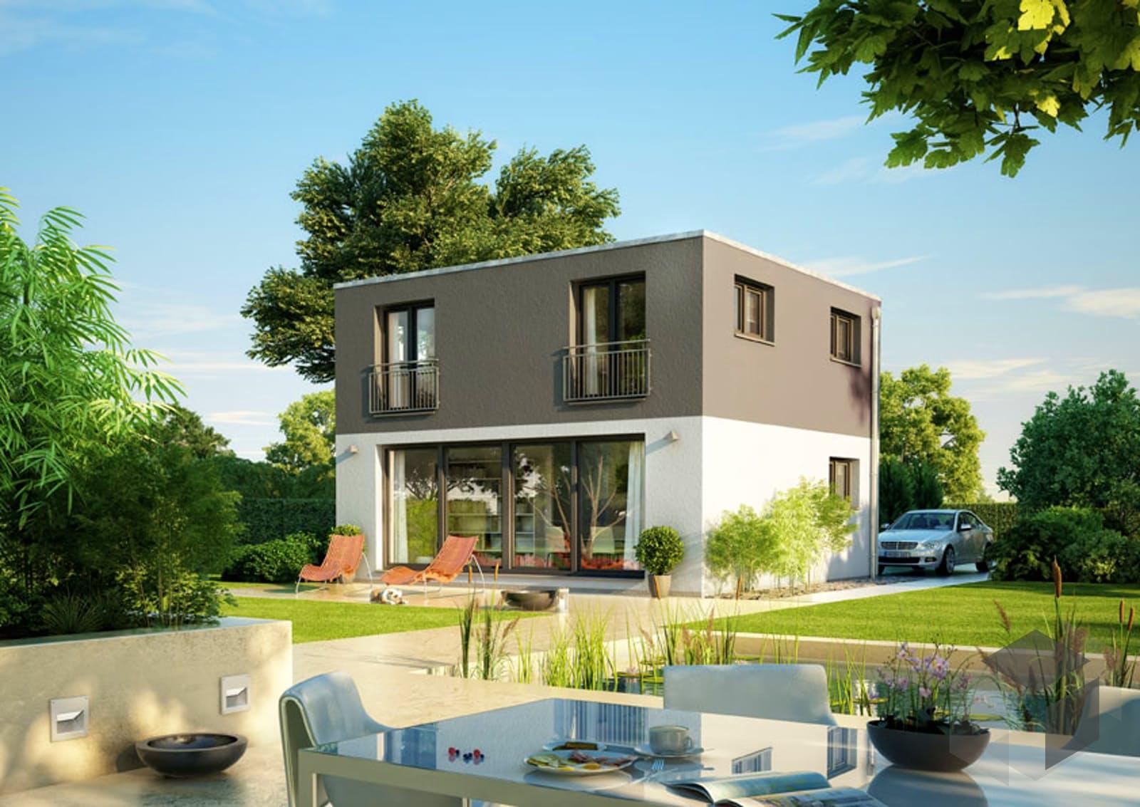 icon 2 plus cube inactive von dennert massivhaus komplette daten bersicht. Black Bedroom Furniture Sets. Home Design Ideas