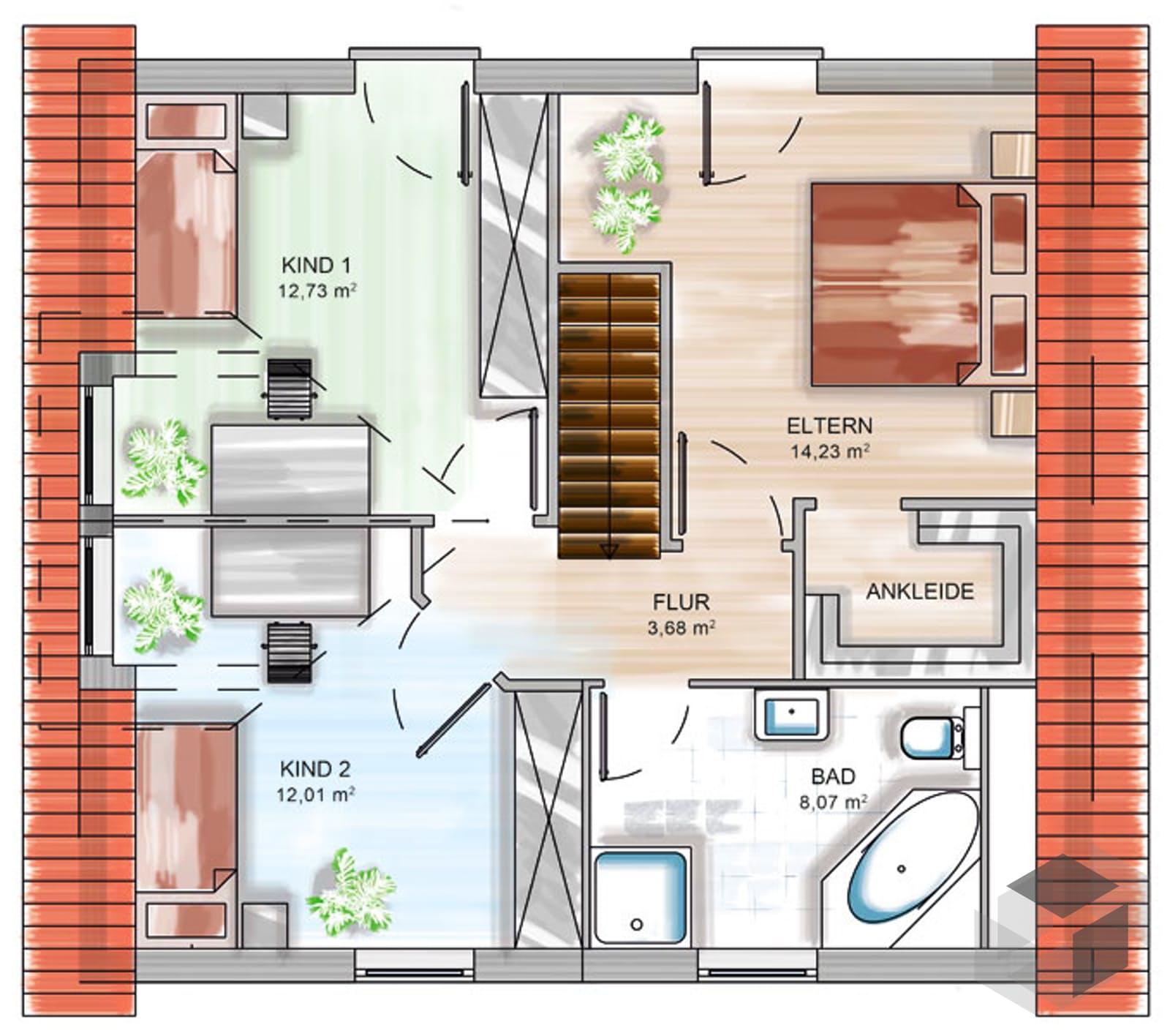 icon tre inactive von dennert massivhaus. Black Bedroom Furniture Sets. Home Design Ideas