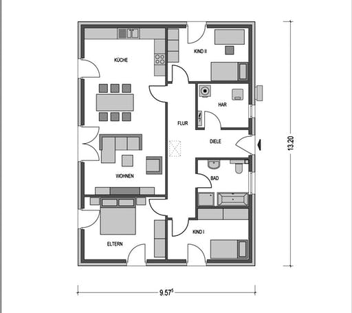 Ideal 1000.2 Floorplan 1