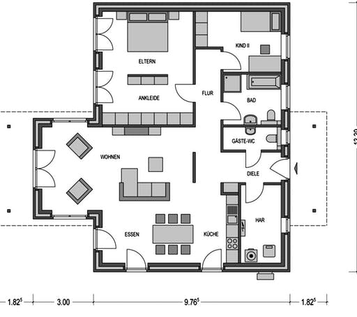 Ideal 3000.2 Floorplan 1