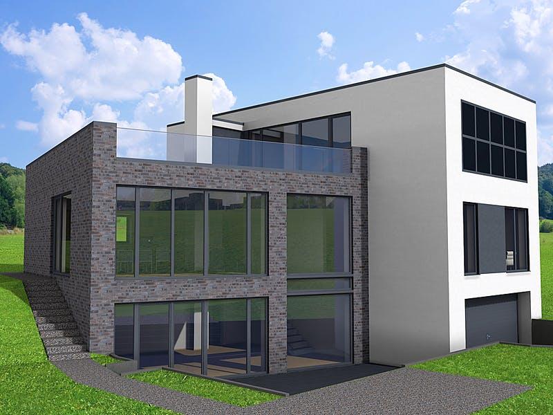 Modernes Massivhaus von IM.Designhaus