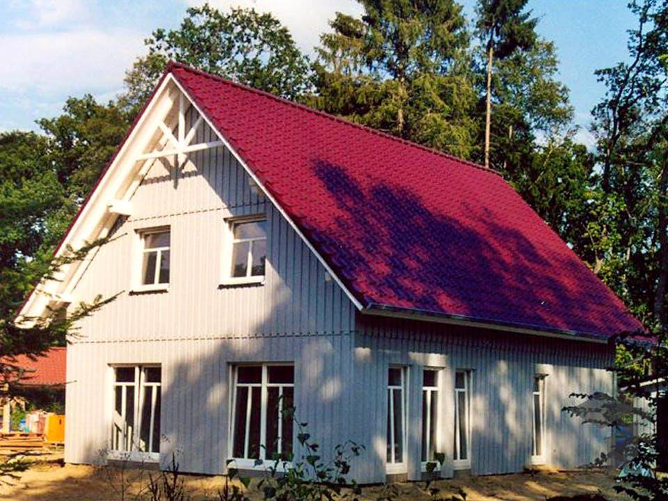 Imke 2 (KfW-Effizienzhaus 40) von Dammann-Haus Außenansicht