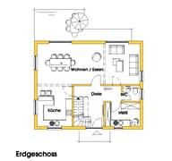 Imke 2 (KfW-Effizienzhaus 40) Grundriss