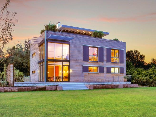 Individuelle Planung Modern Living von Baufritz Außenansicht 1
