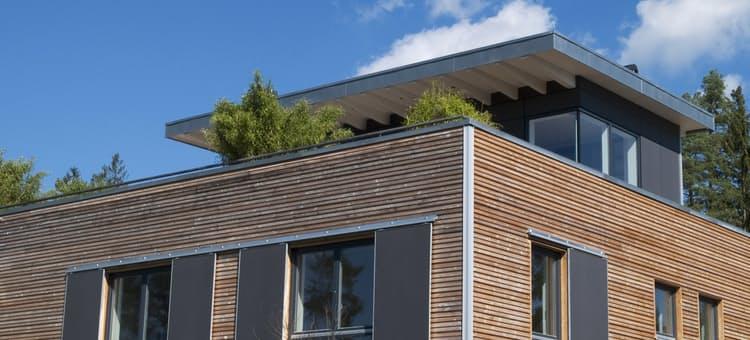 Fertighaus modern  Individuelle Planung Modern Living von Baufritz | komplette ...