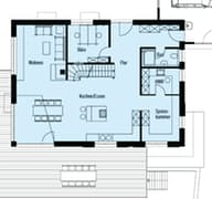 Individuelle Planung Modern Living Grundriss