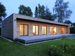 Individuelle Planung Moderner Bungalow  (KfW-Effizienzhaus 70) exterior 13