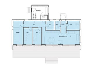 Individuelle Planung Moderner Bungalow Grundriss