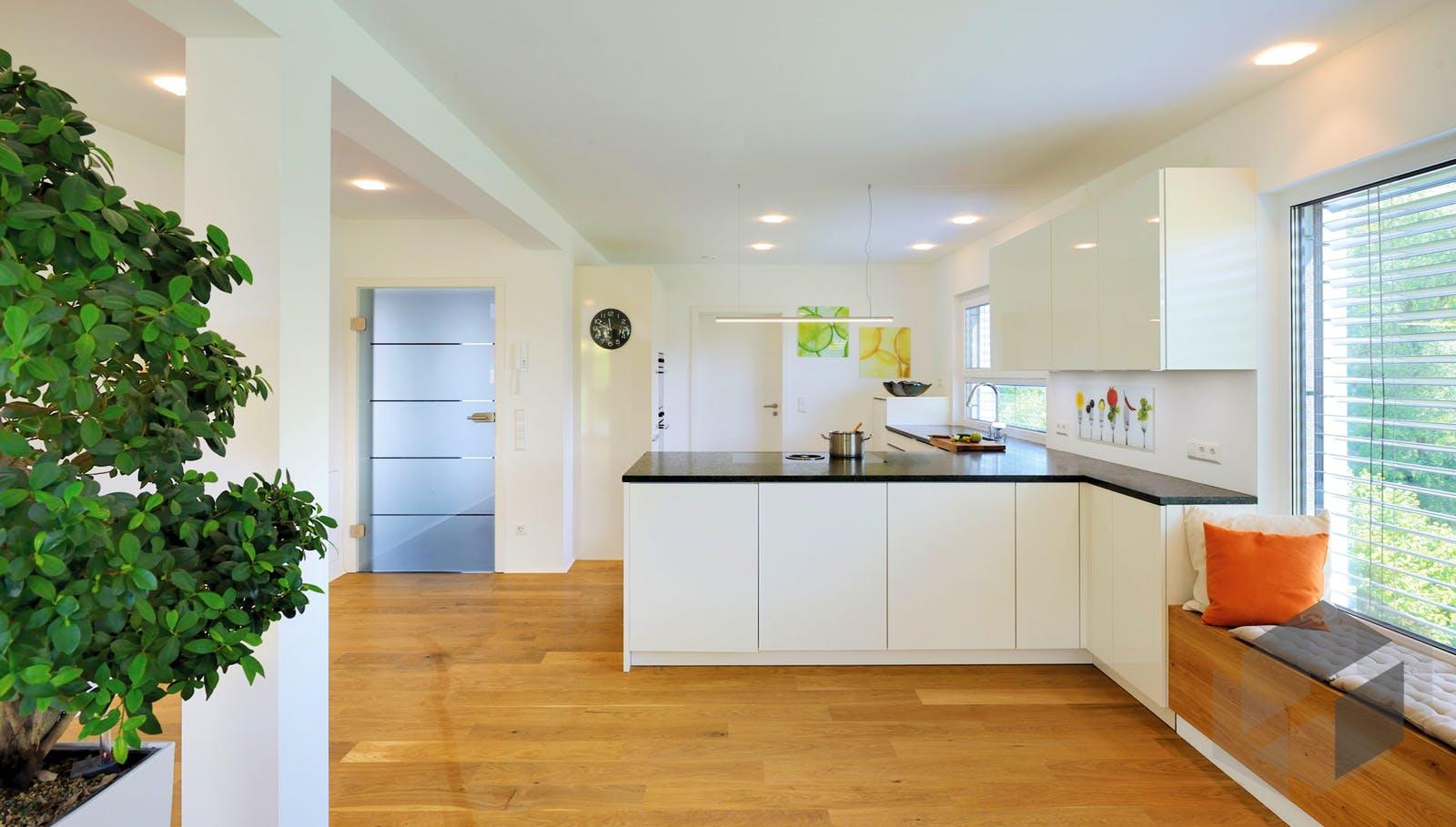 kundenhaus ingelfinger von fertighaus weiss komplette. Black Bedroom Furniture Sets. Home Design Ideas