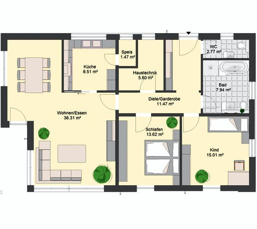 Invivo Avantgarde 125 Floorplan 1