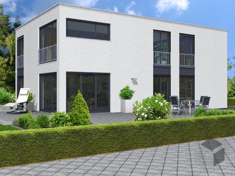 Bauhaus 115 von invivo haus Außenansicht