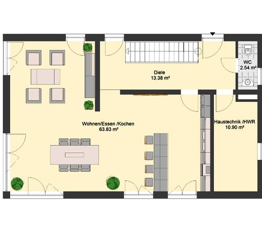Invivo Bauhaus 115 Floorplan 1