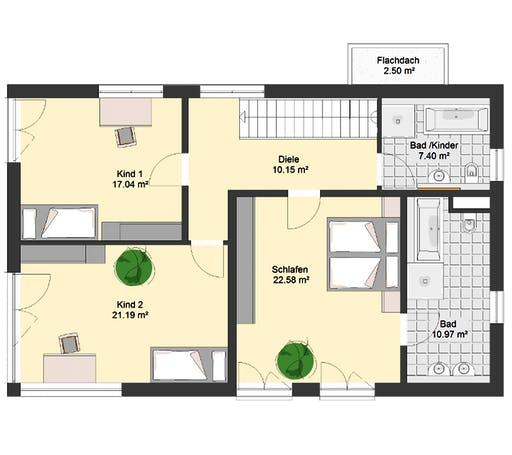 Invivo Bauhaus 115 Floorplan 2