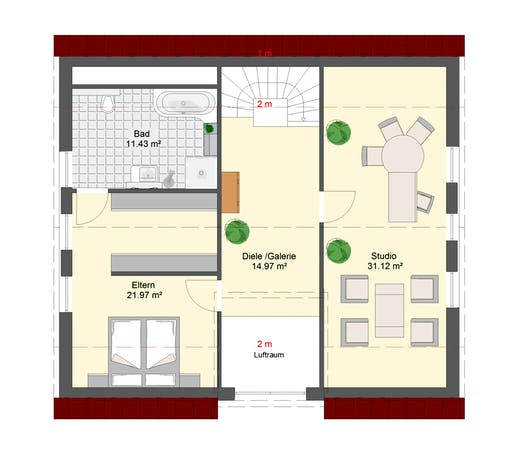 Invivo Klassik 110 Floorplan 2