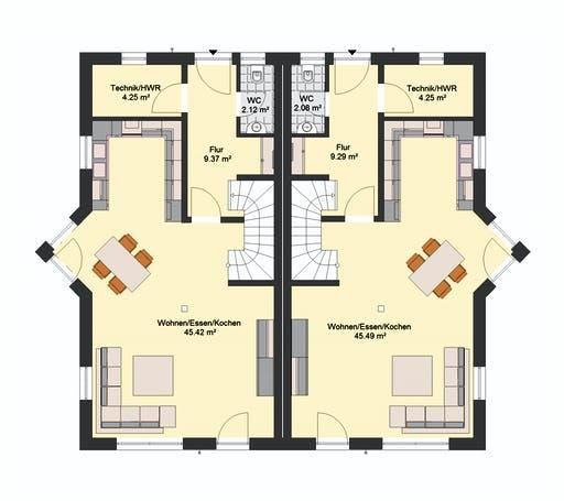Invivo Klassik 72 DH Floorplan 1