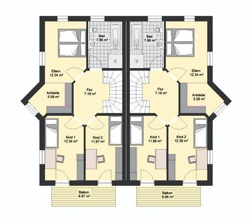 Invivo Klassik 72 DH Floorplan 2
