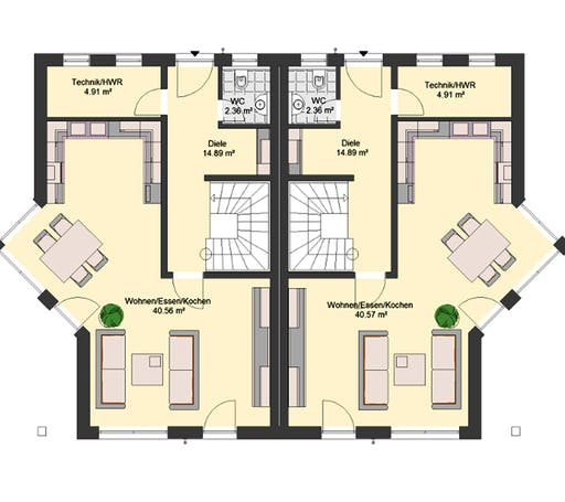 Invivo Klassik 75 DH Floorplan 1