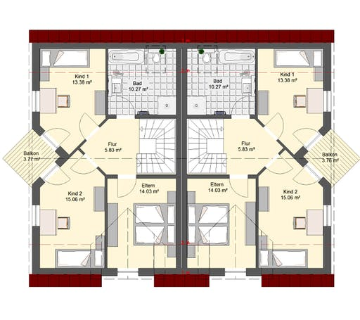 Invivo Klassik 75 DH Floorplan 2