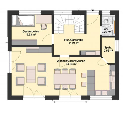 Invivo Klassik 80 Floorplan 1