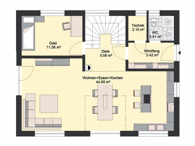Invivo Klassik 93 Floorplan 1