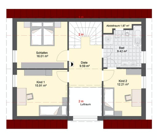 Invivo Klassik 93 Floorplan 2
