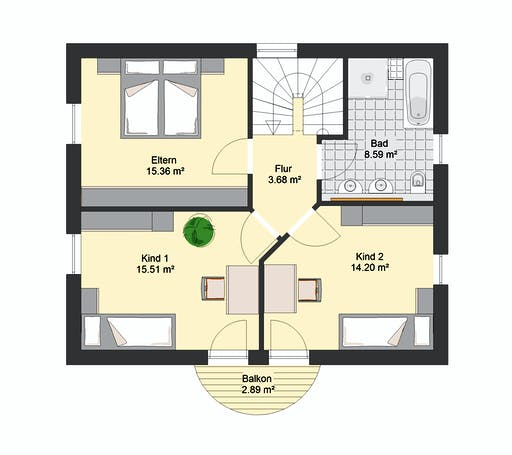 Invivo Villa 76 Floorplan 2