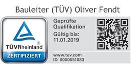 Bauleiter - TÜV-Zertifiziert