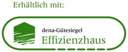 dena-Gütesiegel - Effizienzhaus