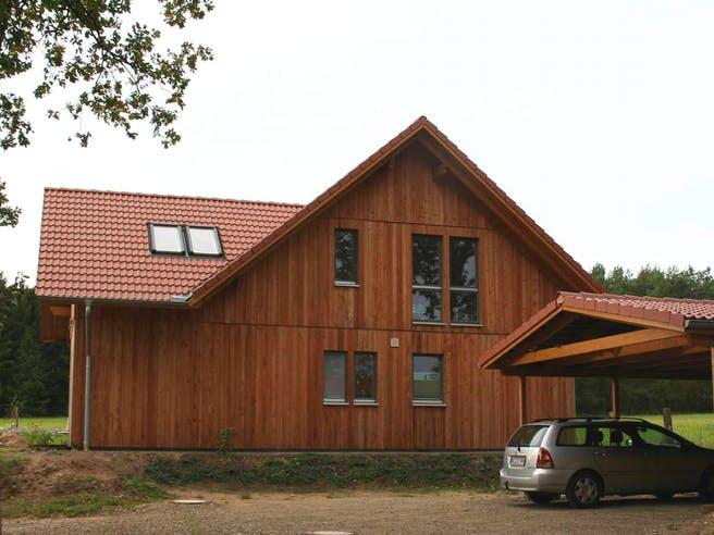 Irina (KfW-Effizienzhaus 40) von Dammann-Haus Außenansicht 1