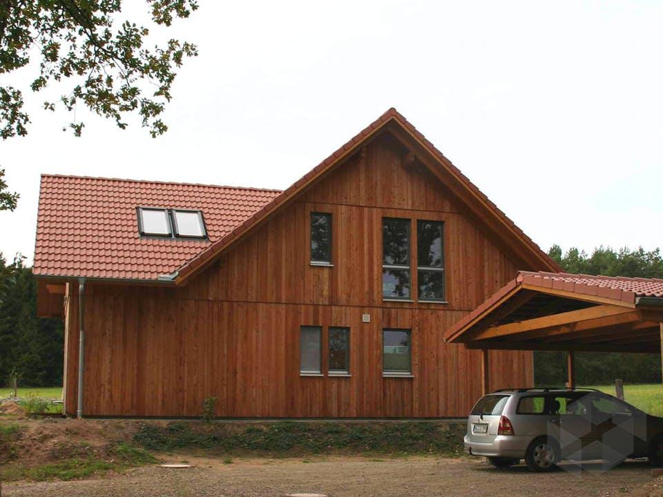 Irina (KfW-Effizienzhaus 40) von Dammann-Haus Außenansicht