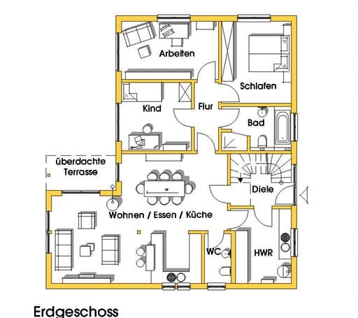 Irina (KfW-Effizienzhaus 55) floor_plans 1