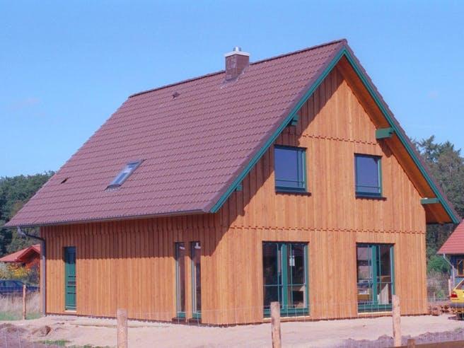 Isa 2 (KfW-Effizienzhaus 40) von Dammann-Haus Außenansicht 1