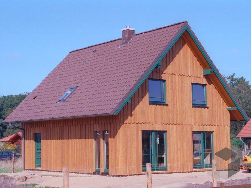 Isa 2 (KfW-Effizienzhaus 40) von Dammann-Haus Außenansicht