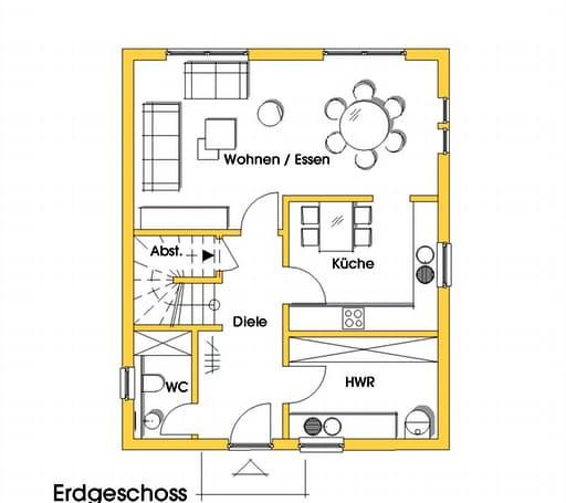 isa 2 kfw effizienzhaus 40 von dammann haus komplette. Black Bedroom Furniture Sets. Home Design Ideas