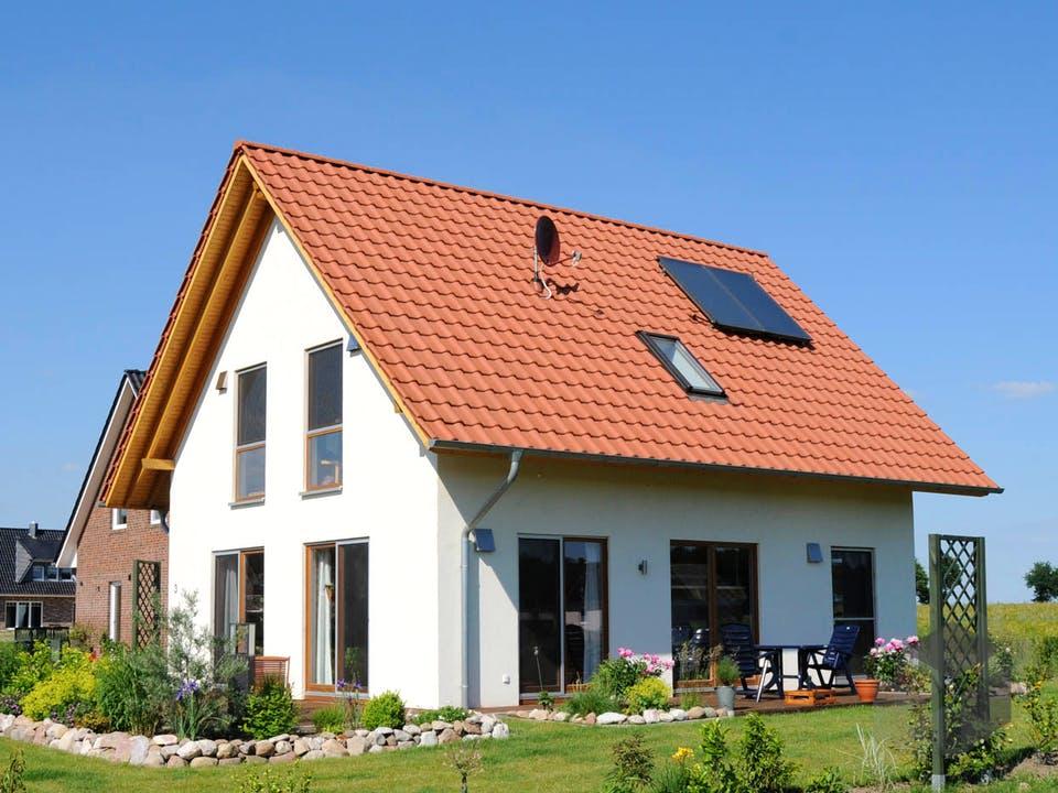 Isa 3 (KfW-Effizienzhaus 40) von Dammann-Haus Außenansicht