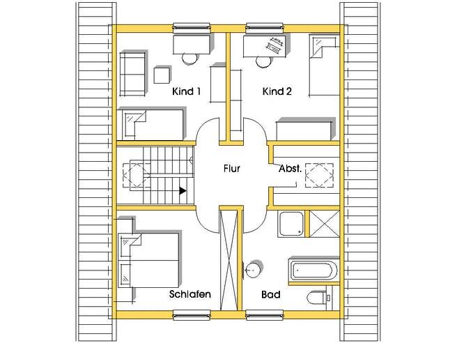 Isa 3 (KfW-Effizienzhaus 55) floor_plans 0