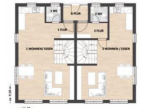 Haus Richter & Schwarz Grundriss