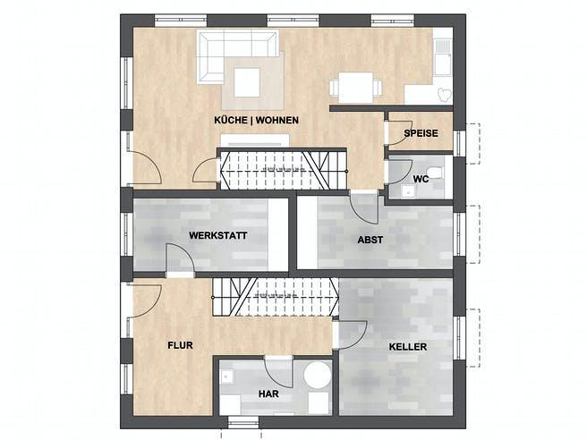ISAR-Haus Rother Floorplan 1