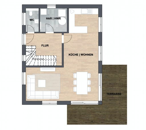 ISAR-Haus Silvia Floorplan 1