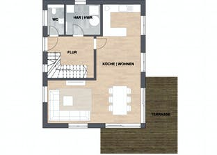 Haus Silva Grundriss