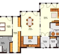 Bungalow 143 (inactive) Grundriss