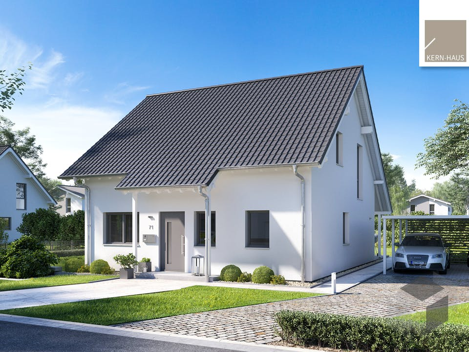 Architektenhaus Jano von Kern-Haus Außenansicht