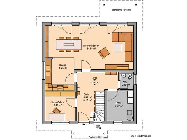 Architektenhaus Jano von Kern-Haus Grundriss 1